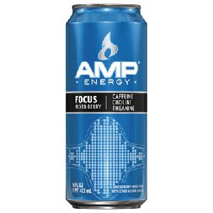Amp focus mixed berry 12ct / 16oz