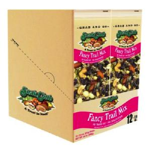 Snak club grab/go fancy trail mix 12ct 2oz