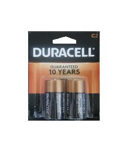 Duracell coppertop c 2pk 8 card