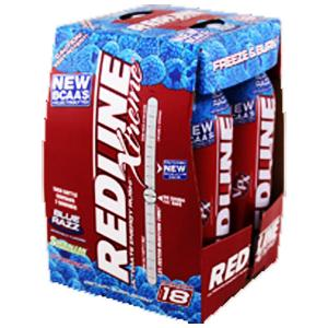 Redline xtreme blue razz energy drink 4ct 8oz