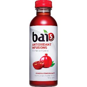 Bai5 antioxidant infusions ipanema pomegranate 12ct 18oz