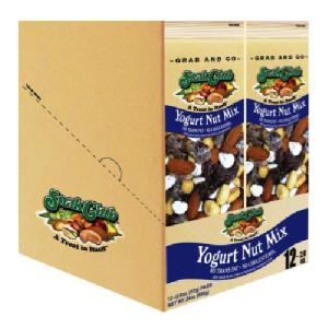 Snak club grab/go yogurt nut mix 12ct 2oz