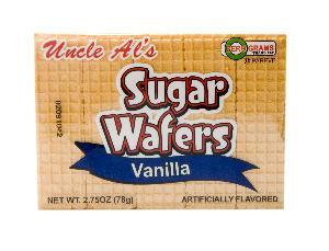 Uncle als vanilla sugr wafer 12ct 2.75oz