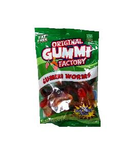 Original gummi factory gummi worms 4.5oz