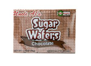 Uncle als  chocolate sugr wafer 12ct 2.75oz