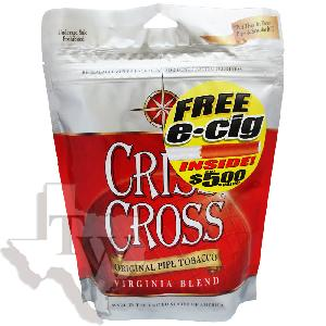 Criss cross pipe tobacco original 3oz
