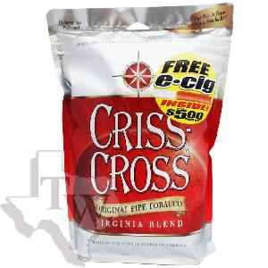 Criss cross pipe tobacco original 8oz