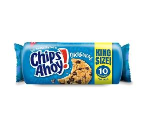 Chips ahoy org k/s 8ct 3.75oz