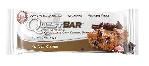 Quest chocolate chip cookie dough protn bar 12ct