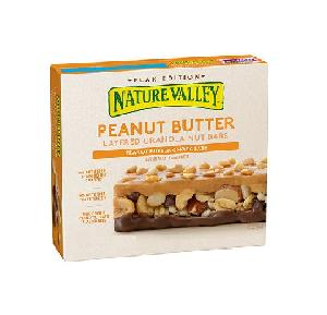 Nature valley lyrd pnt butr choc 15ct