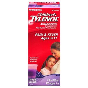Tylenol childrens pain & fever grape 4oz