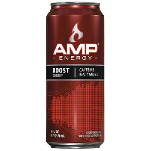 Amp boost cherry 12ct / 16oz