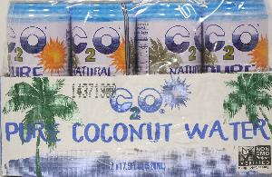 C2o pure coconut water 12ct 17.5oz