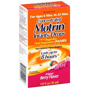 Motrin infant drops berry 0.5oz
