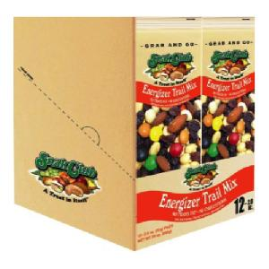 Snak club grab/go energizer trail mix 12ct 2oz